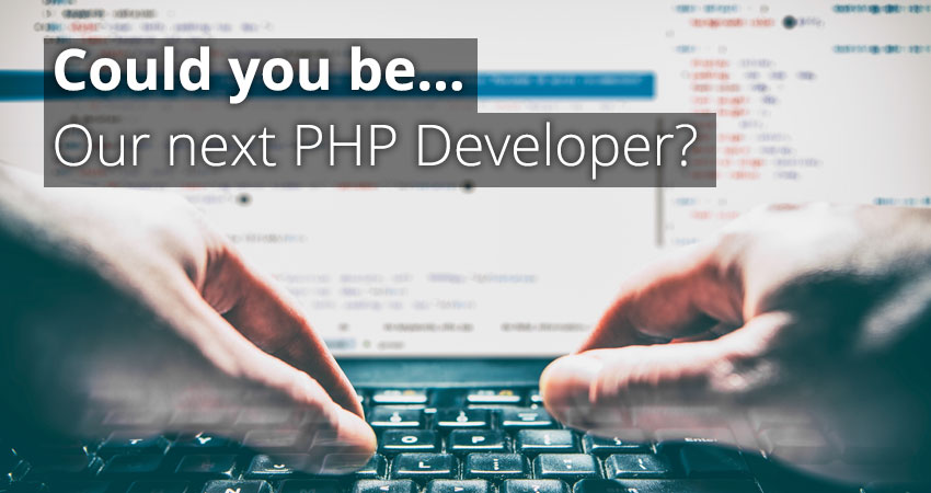 Could You Be Our Next PHP Web Developer?